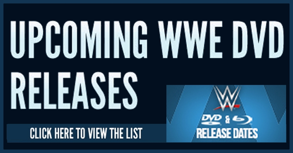WWE DVD Release Dates