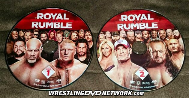 WWE Royal Rumble 2017 DVD - 2 DISC SET!