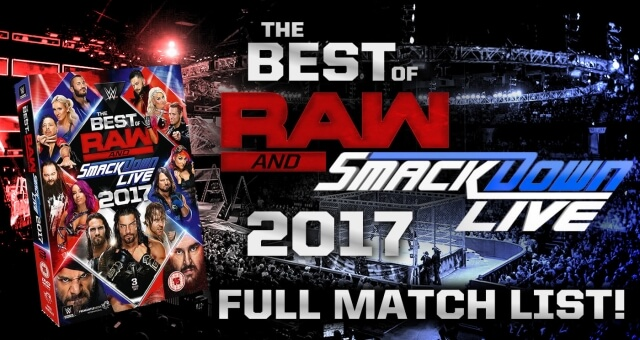 REVEALED: Full Content Listing For WWE 'Best Of RAW & SD