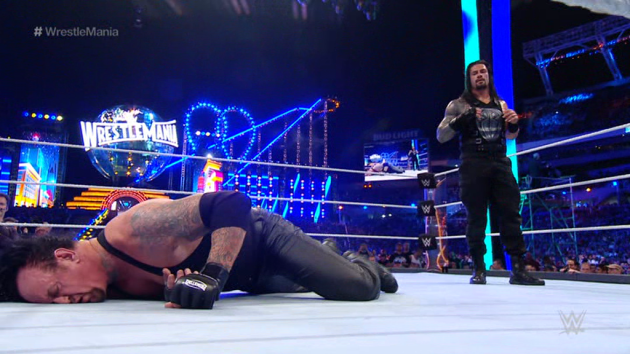 WWE 'The Shield: Justice for All' DVD - Roman Reigns vs. The Undertaker