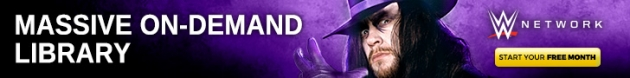 WWE Network Banner - The Undertaker