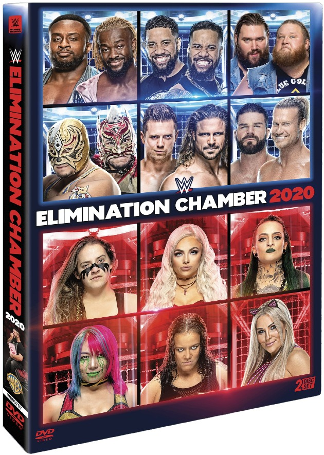 WWE Elimination Chamber 2020 DVD - Official Box Artwork