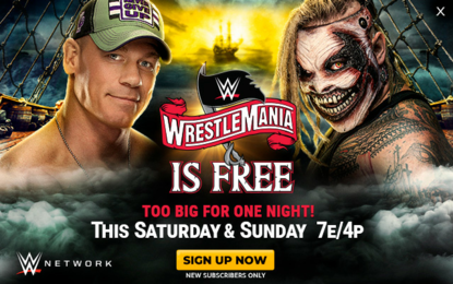 WWE WrestleMania 36 - Free on WWE Network!