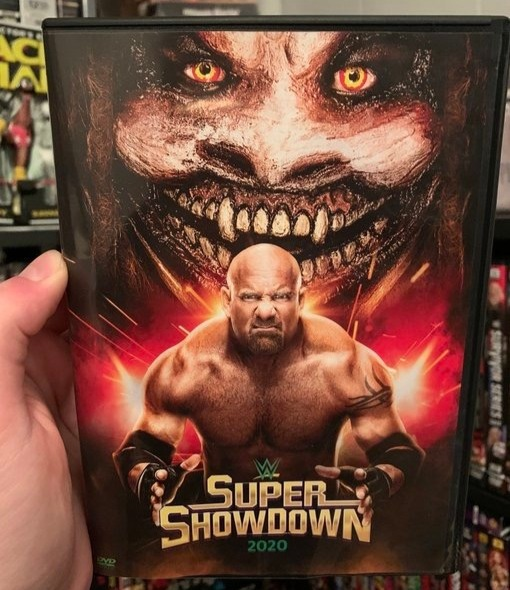 WWE Super Showdown 2020 DVD - Photos, Front Cover