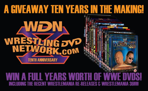 Win A Year of WWE DVD Prizes - WDN 10th Anniversary Giveaway