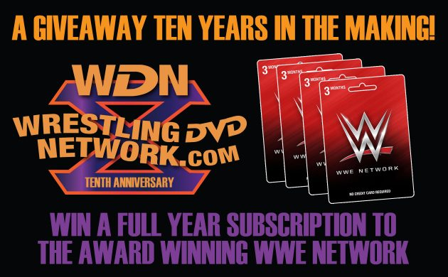 Win A Free Year of WWE Network - WDN 10th Anniversary Giveaway
