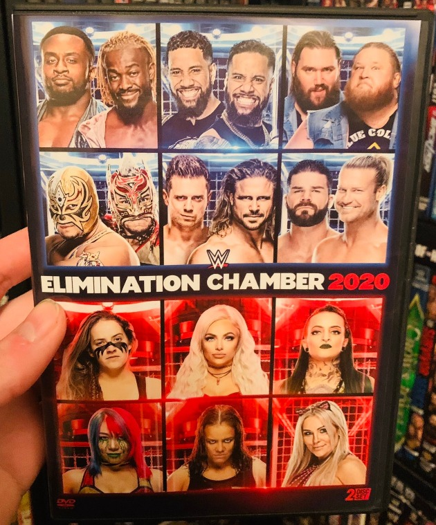 WWE Elimination Chamber 2020 DVD - Photos, Front Cover