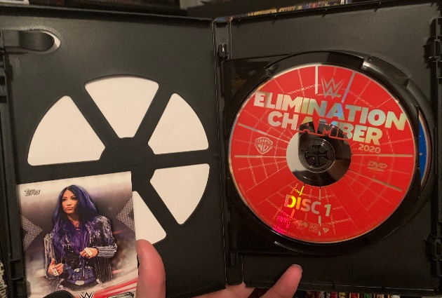 WWE Elimination Chamber 2020 DVD - Photos, Packaging Layout