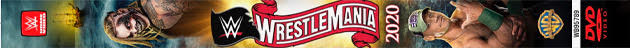 WWE WrestleMania 36 DVD - Spine Artwork