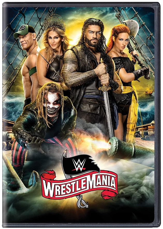 WWE WrestleMania 36 DVD - Promotional Cover Artwork