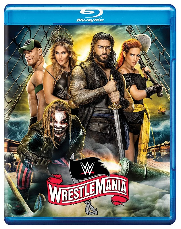 WWE WrestleMania 36 Blu-ray - Promotional Cover Artwork