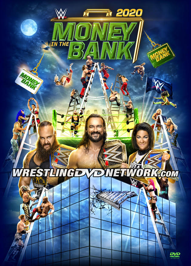 WWE Money in the Bank 2020 DVD - Cover Artwork Revealed!