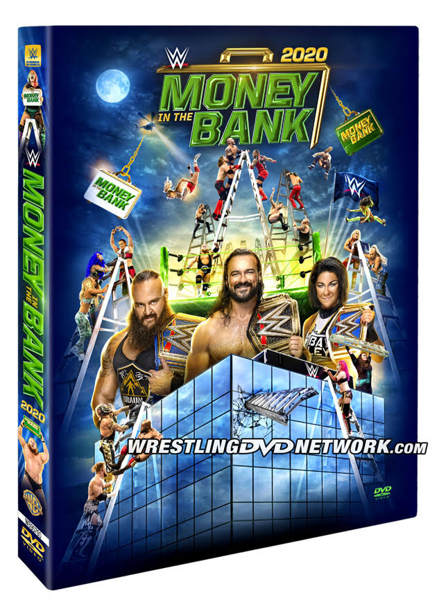WWE Money in the Bank 2020 DVD - Official Box Artwork