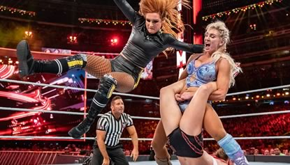 WWE - Becky Lynch, Charlotte Flair & Ronda Rousey Battle in WrestleMania Main Event!
