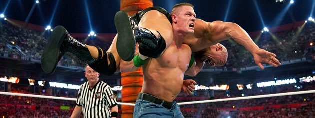 WWE 'Best Main Events of the Decade: 2010-2020' DVD - The Rock vs. John Cena