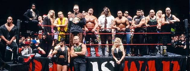 WWE Superstar Line Up of the Attitude Era