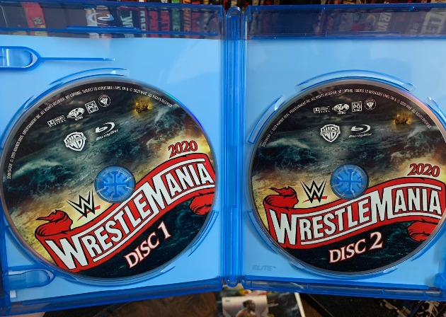 WWE WrestleMania 36 Blu-ray - Photos, Disc Artwork