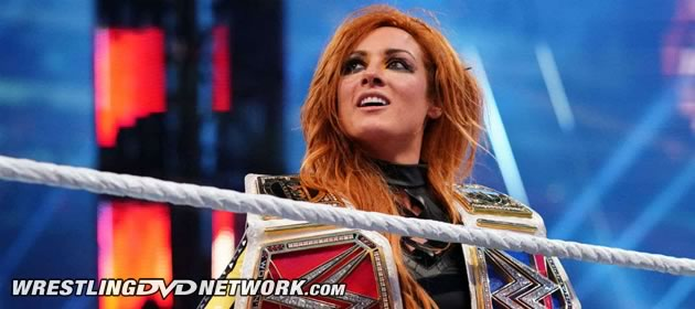 WWE - Becky Lynch with Both RAW and SmackDown Women's Championships, Becky Two Belts!