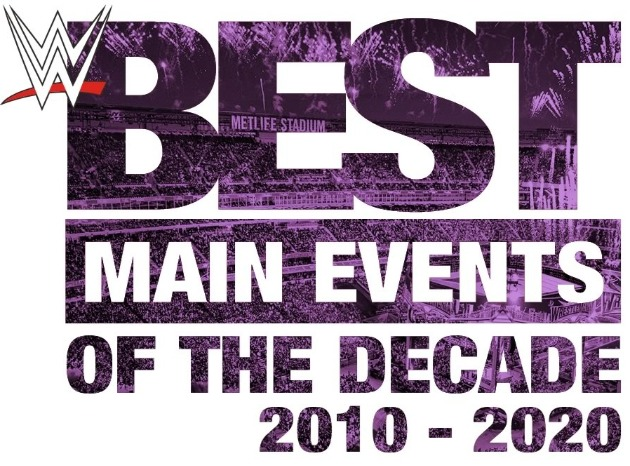 WWE 'Best Main Events of the Decade: 2010-2020' - Logo