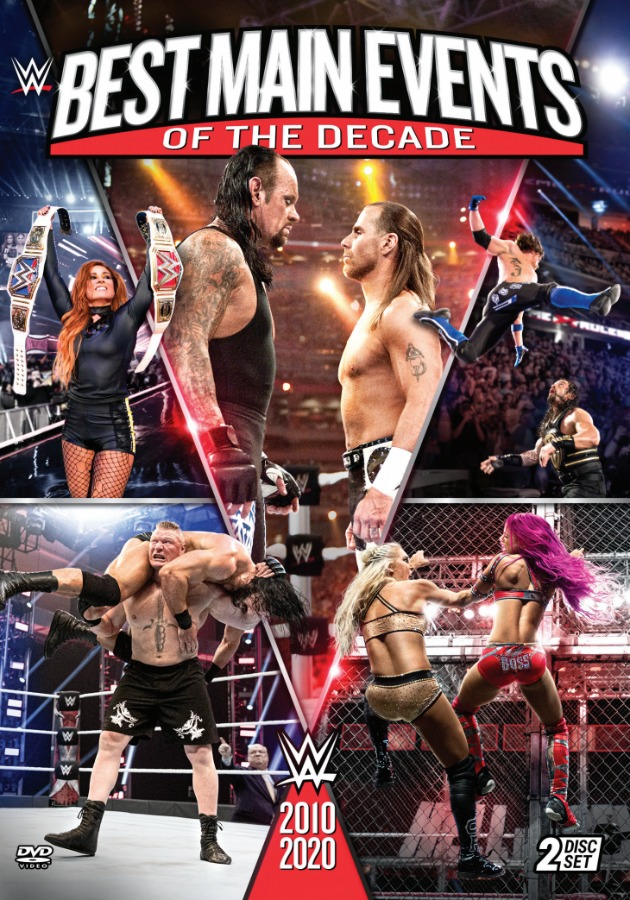 WWE 'Best Main Events of the Decade: 2010-2020' DVD - Cover Artwork Revealed!