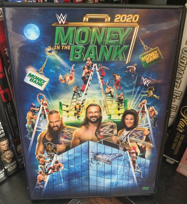 WWE Money in the Bank 2020 DVD - Photos, Front Cover