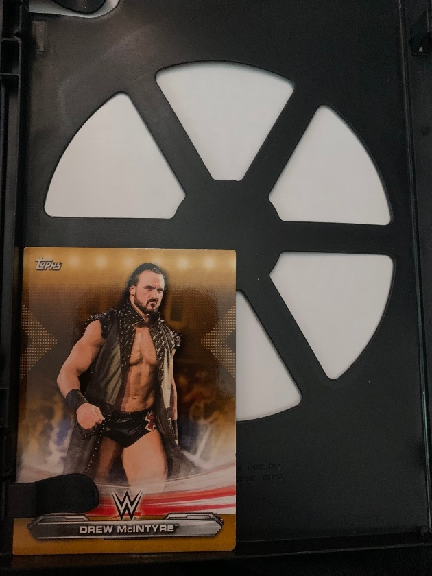 WWE - Drew McIntyre Trading Card Free with Backlash 2020 DVD!