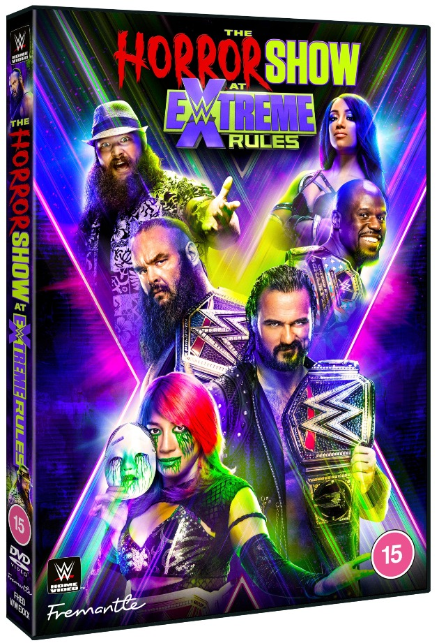 WWE The Horror Show at Extreme Rules 2020 DVD - Official Cover Artwork