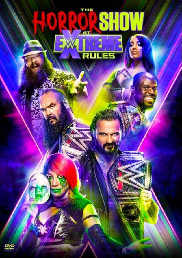 WWE The Horror Show at Extreme Rules 2020 DVD - Front Cover Artwork