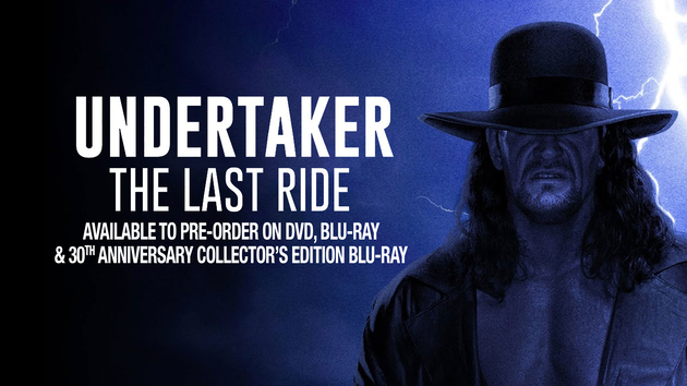 WWE 'Undertaker: The Last Ride' DVD and Blu-ray Announcement