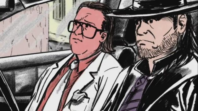 WWE - Undertaker and Brother Love Animated Photo