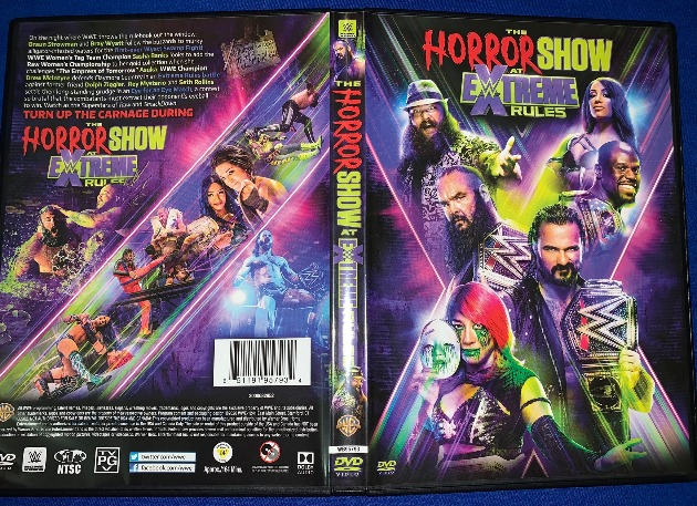 WWE Horror Show at Extreme Rules 2020 DVD - Available Now!
