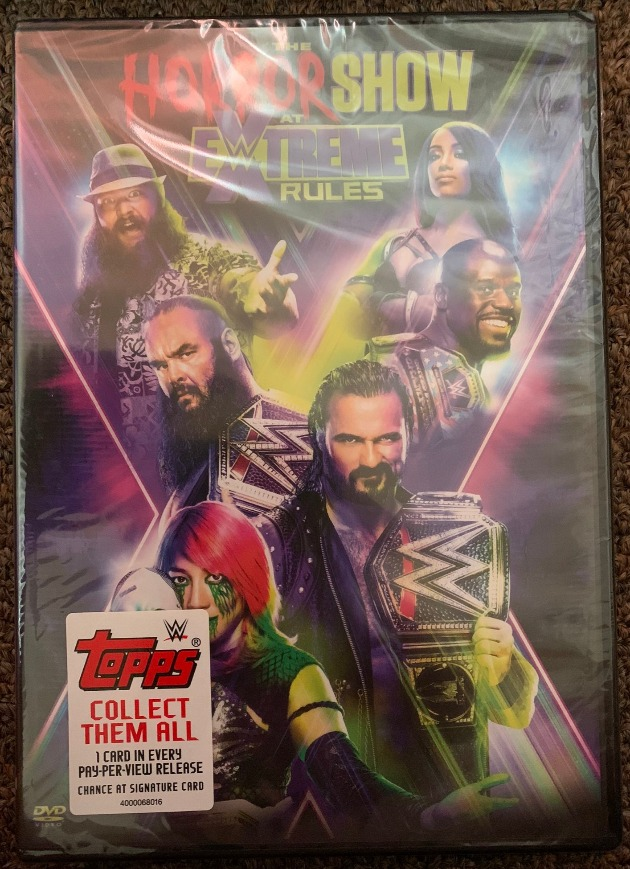 WWE Horror Show at Extreme Rules 2020 DVD - Photos, Front Cover