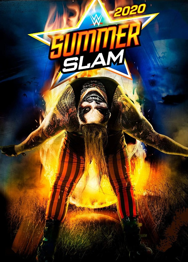 WWE SummerSlam 2020 DVD - Cover Artwork Featuring The Fiend