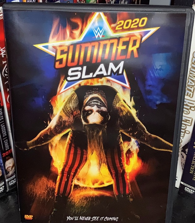 WWE SummerSlam 2020 DVD - Photos, Front Cover