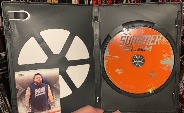 WWE SummerSlam 2020 2020 DVD - Disc Artwork & Trading Card