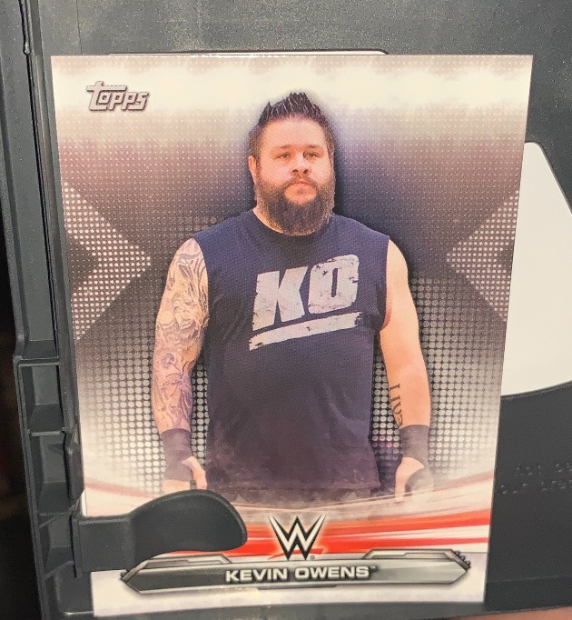 WWE - Kevin Owens Topps Trading Card Free Inside SummerSlam 2020 DVD