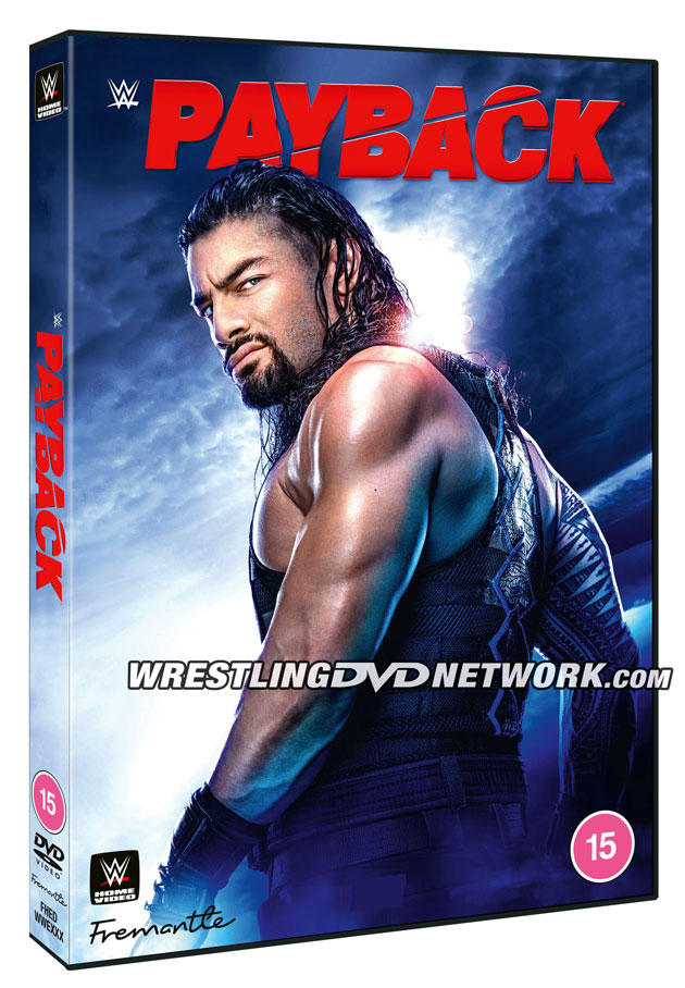 WWE Payback 2020 DVD Cover Artwork - UK Exclusive