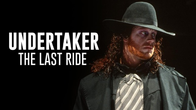 WWE 'Undertaker: The Last Ride' Documentary - Old School Logo
