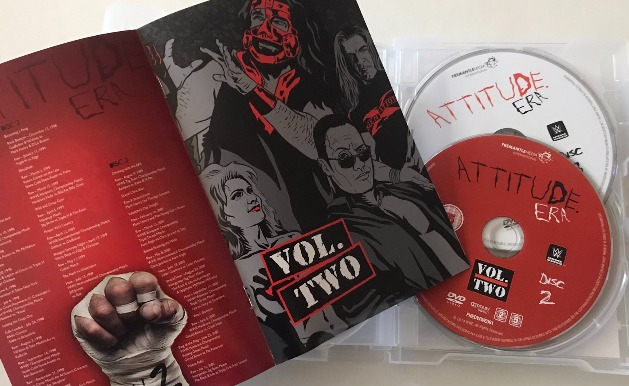 WWE 'Attitude Era Complete Collection' DVD Box Set - Photos, Packaging Layout