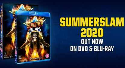 WWE SummerSlam 2020 Blu-ray - UK Exclusive, Available Now!