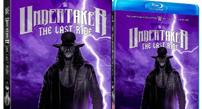 Alternate Cover Artwork Revealed for WWE 'Undertaker: The Last Ride' DVD!
