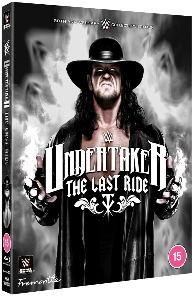WWE 'Undertaker: The Last Ride' DVD - Alternate Cover Artwork