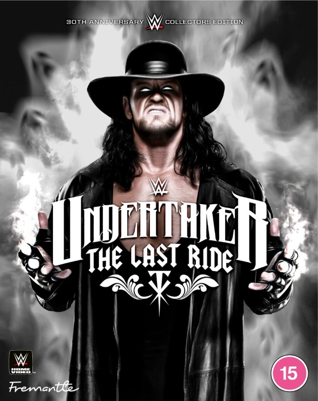 WWE 'Undertaker: The Last Ride' DVD - Alternate Artwork Revealed!