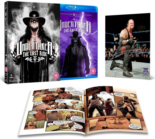 WWE 'Undertaker: The Last Ride' Collector's Edition Blu-ray With Alternate Artwork