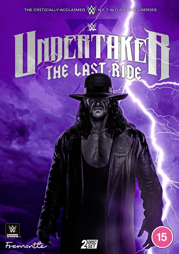 WWE 'Undertaker: The Last Ride' DVD - Cover Artwork Revealed!