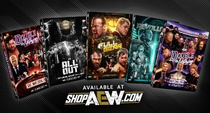 AEW DVDs Announced!