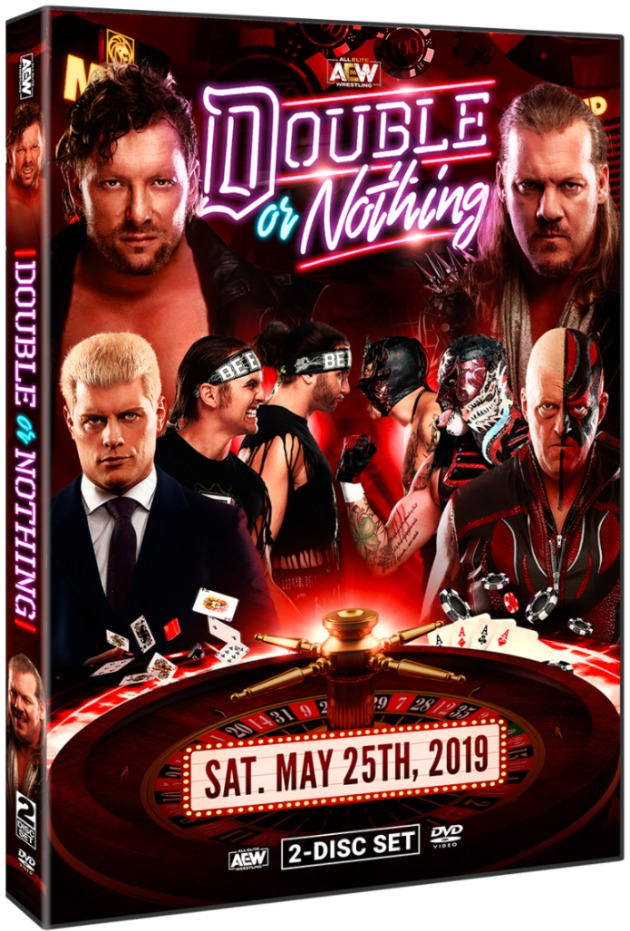 AEW Double or Nothing 2019 DVD - Cover Artwork