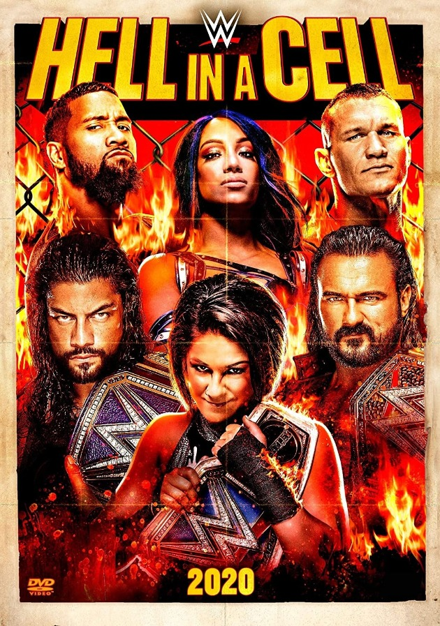 WWE Hell in a Cell 2020 DVD - Cover Artwork
