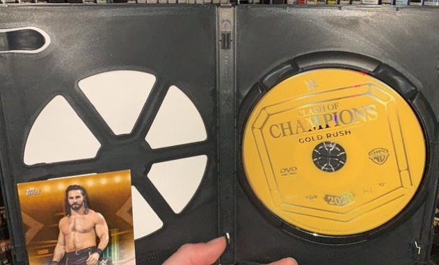 WWE Clash of Champions 2020 DVD - Photos, Disc Artwork & Trading Card