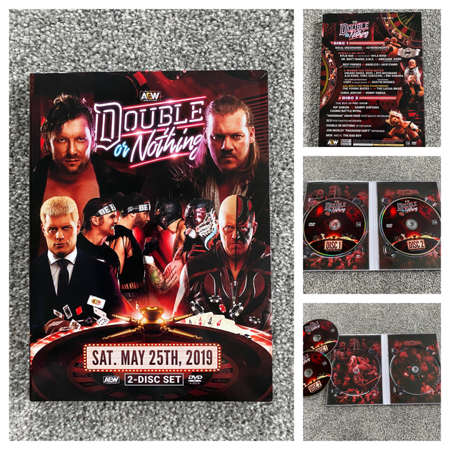 AEW Double or Nothing 2019 DVD - Photos